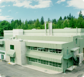 The DRAGON apparatus is located inside the ISAC building.
