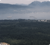 TRIUMF is located on the campus of the University of British Columbia in Vancouver, British Columbia.